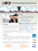 MTS Cloud Call Accounting Solution