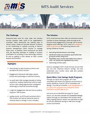 MTS Telecom Billing Audit