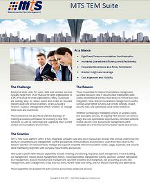 MTS_TEM_Suite_Overview
