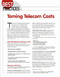 taming telecom costs
